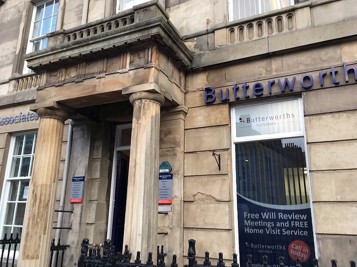 An image showing Butterworths Solicitors Carlisle - Lowther Street office
