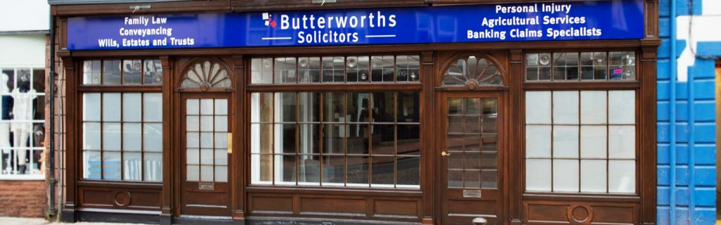 An image showing the Butterworths solicitors penrith office