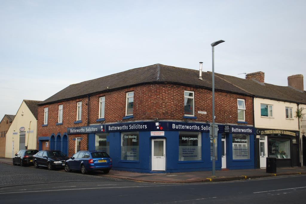 an image of Butterworths solicitors Carlisle Botchergate office